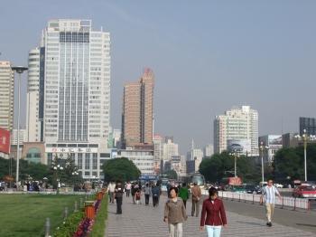 Lanzhous Stadtzentrum